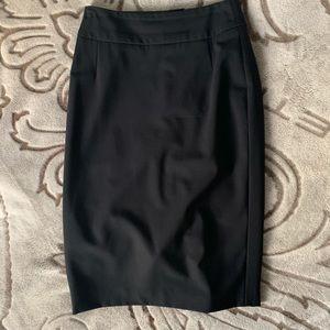 Boss Wool Classic Midi Skirt